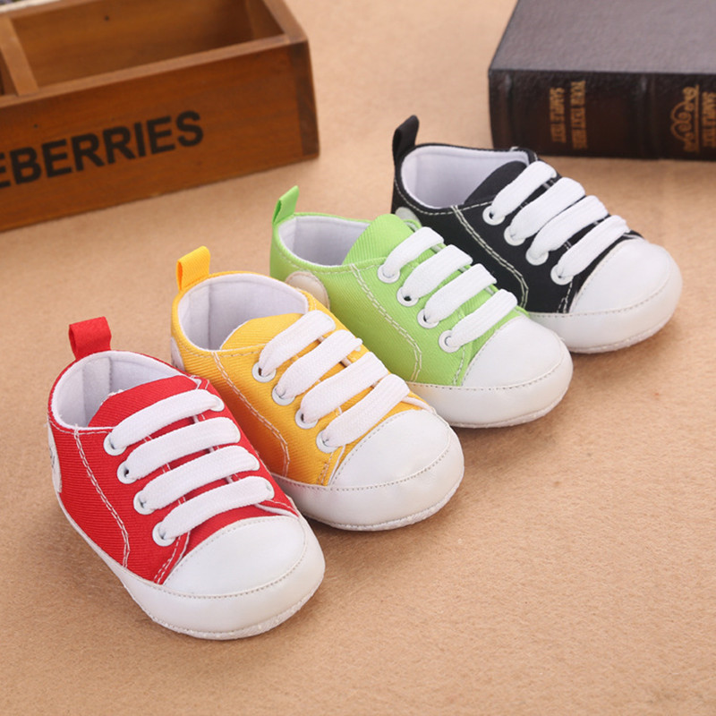 High Quality Colorful Baby Shoes Girls Boys Toddler Shoe 2016 Fashion Canvas Shoes Soft Prewalkers Casual