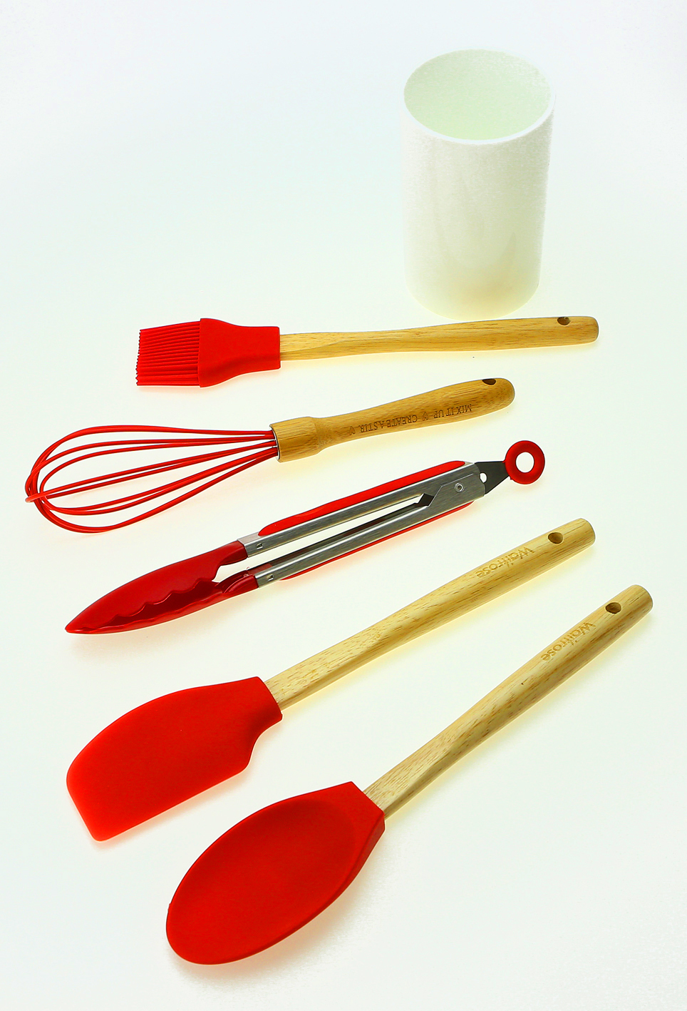 Silicone And Stainless Steel Kitchen Tool Set