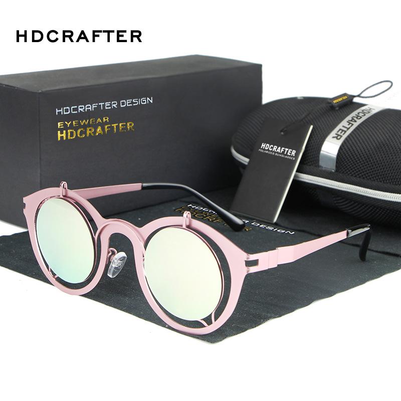 Colorful Transparent Vintage Round Sunglasses Women Mercury Coating Sun Glasses  Female Oculos De Sol Feminino 2016 Gafas   Veithdia  Aluminum Magnesium ... 588d489d60