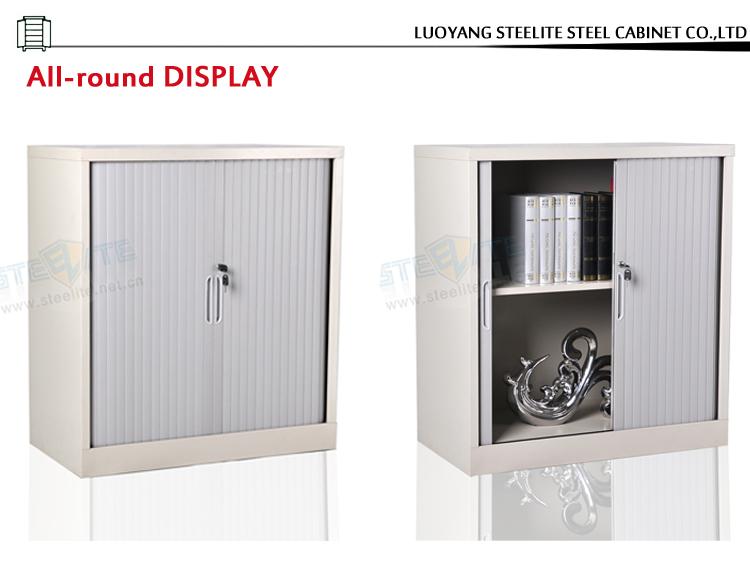 Tambour Door Custom Made Horizontal Kitchen Cabinet Pvc