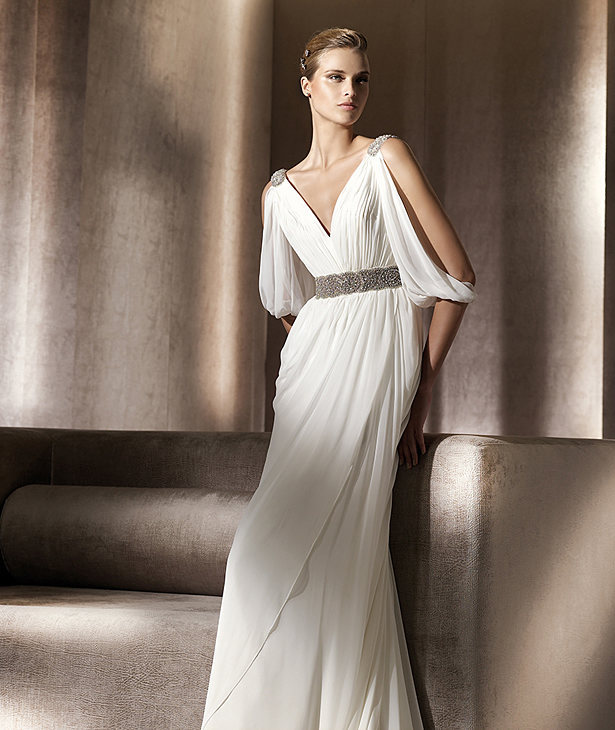 Grecian Style Wedding Gown: Popular Grecian Wedding Dress-Buy Cheap Grecian Wedding