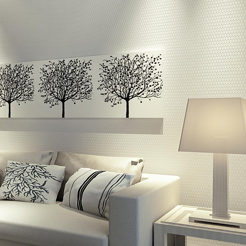 Cozy Minimalist Living Room: Wall Paper Pune Modern Minimalist Elegance Diamond Lattice