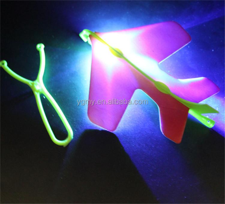 Удивительная мигающая светодиодная стрела, Рокет, вертолет, вращающиеся летающие игрушки, украшение для вечеринки, подарок <span style=