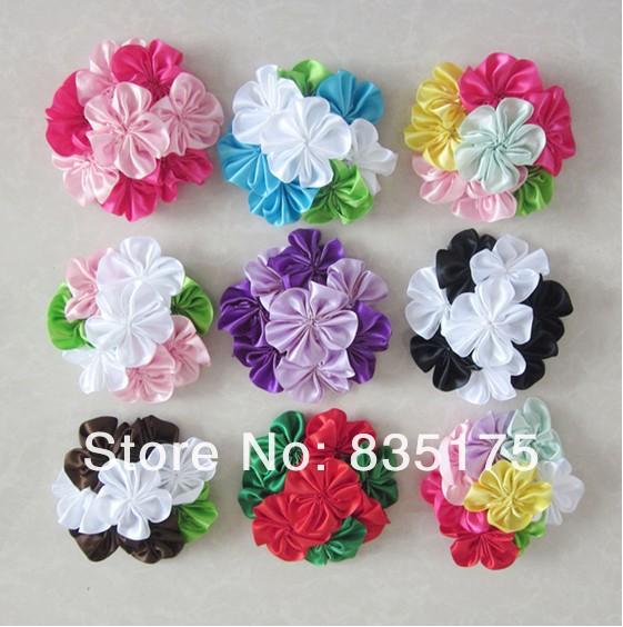 Elegant Flower Cluster Infant Headband