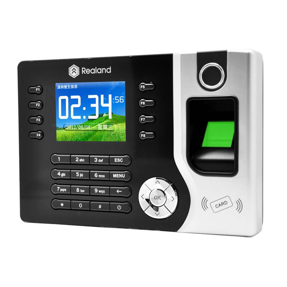 Realand biometric fingerprint and card time attendance systems A-C071