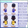 20cm Quality Resin Basketball Stars Doll Stephen Curry James Kobe Iverson Thompson Doll Gift Toy Artwork