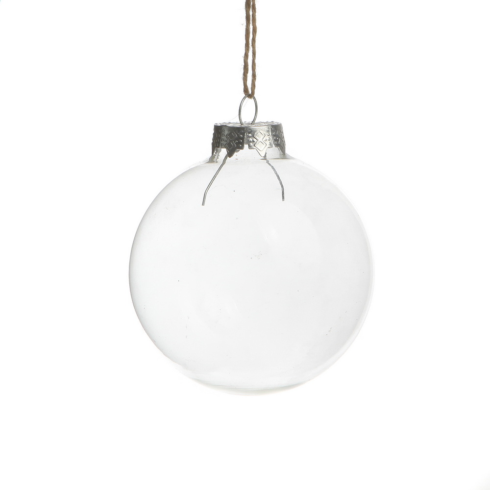 Online Buy Wholesale Wholesale Clear Glass Christmas Ball