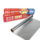 9mic Household aluminium tray with roller for food 3M*30CM