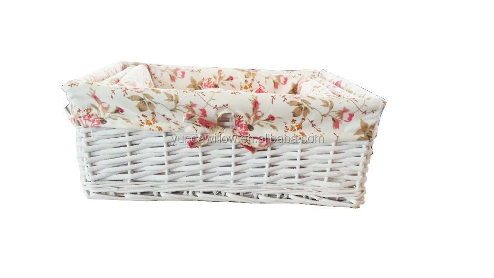 Плетеная детская корзина для хранения из натурального ремесла, подарочная корзина