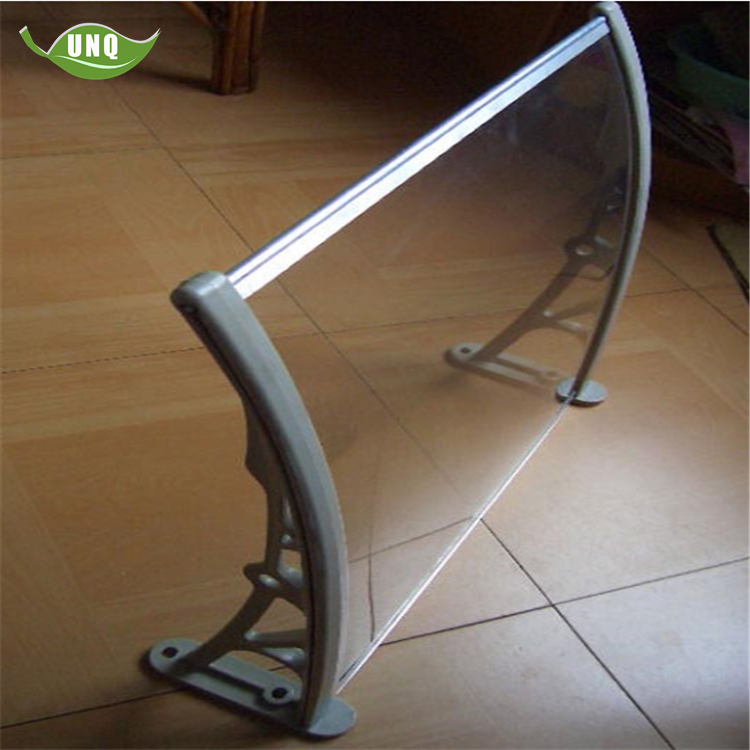 Polycarbonate Awning Outdoor Canopy Roof/Poly Carbonate Awning/Polycarbonate Awning 80X200CM