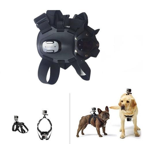 2016New GoPro Fetch собака Крепление собаки Жгут Нагрудный Гора для Go pro Камеры Героя 4 Hero3 +/3/SJ4000 собака нагрудный ремень аксессуары