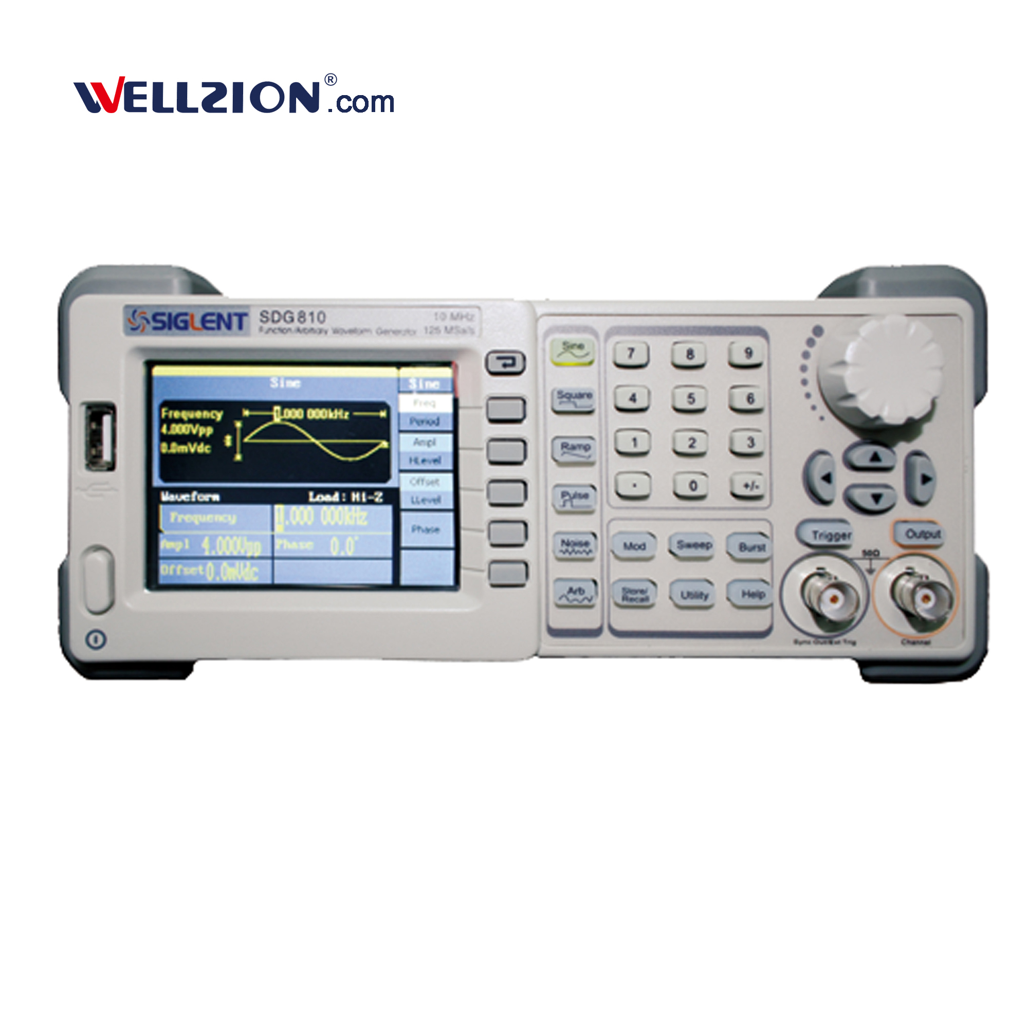 SDG830,1uHz to 30MHz arbitrary function signal generator