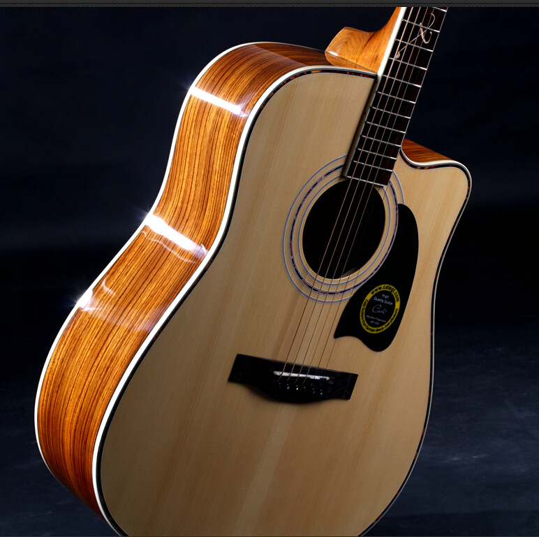 41 27 new guitars 41 inch high quality acoustic guitar rosewood fingerboard guitarra with guitar. Black Bedroom Furniture Sets. Home Design Ideas