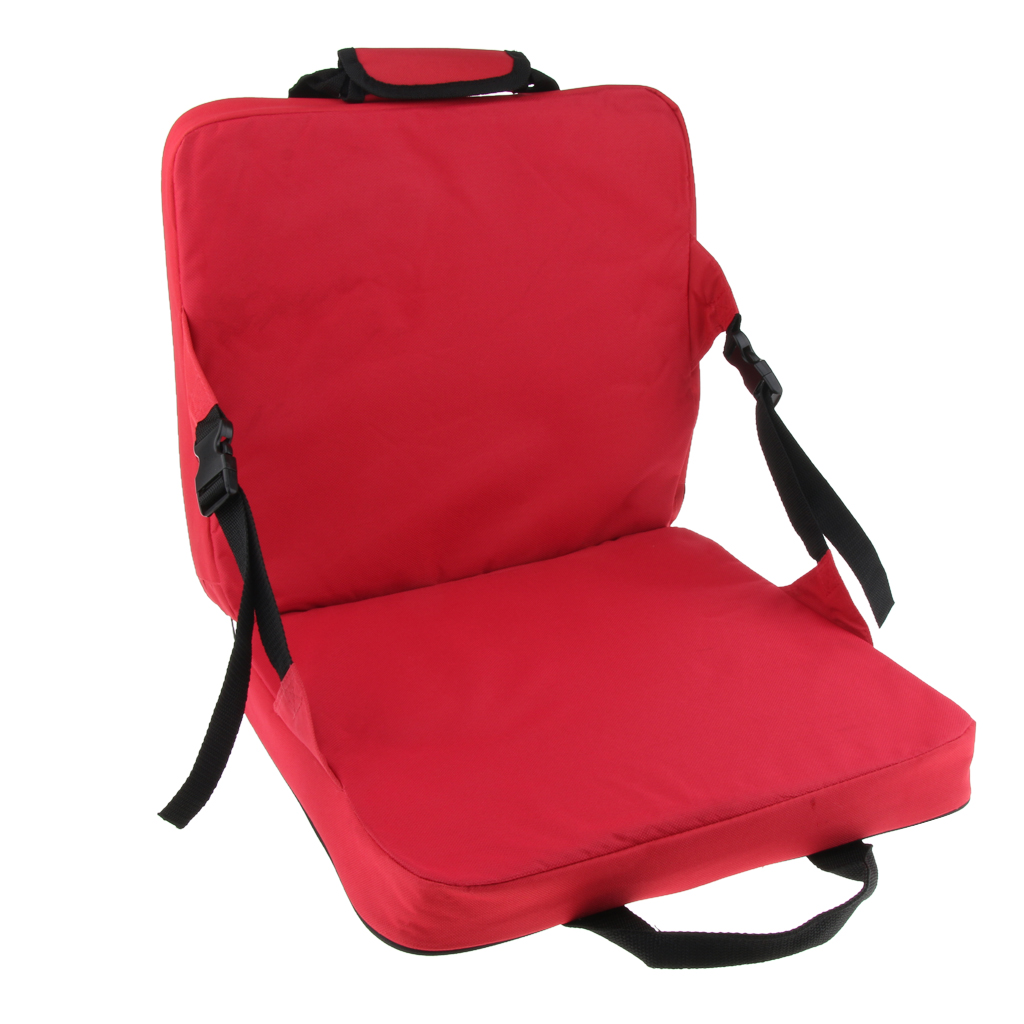 Picture of: Portable Lightweight Stadium Seat Cushion Chair Bench Bleachers With Back Support For Patio Garden Party Hiking Camping Fishing Chairs Aliexpress
