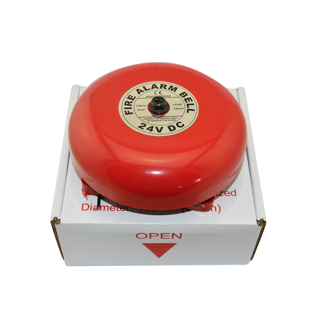 6/8 inch conventional fire alarm bell with CE/ SASO
