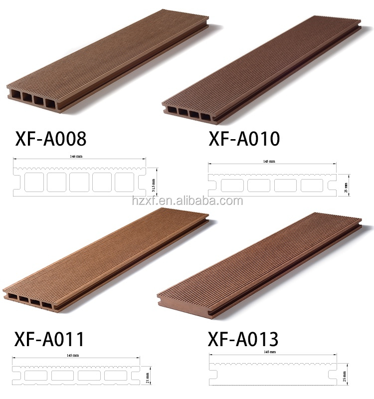 China Non Slip Weather Resistant Wood Plastic Composite