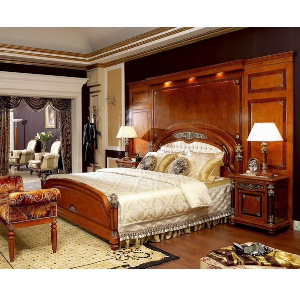 Yb29 Traditional Antique Mahogany Super King Size Master Solid Wood Bedroom Furniture Arabic Bedroom Set With Background Screen Buy Luxurious King Bedroom Furniture Sets Solid Ash Wood Bedroom Furniture Set Elegant King Size