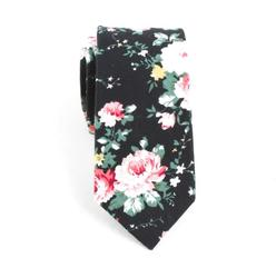 groom wedding ideas fashion groomsmen flower neckties men floral skinny tie