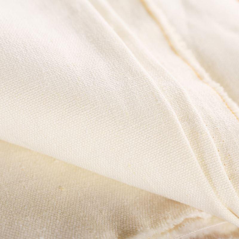 Высококачественная конопляная тканая ткань 55% hemp45 % хлопок 11sX11sX51X47 для одежды и постельного белья