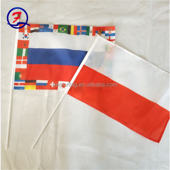 Custom SGS certificated national country china flag maker
