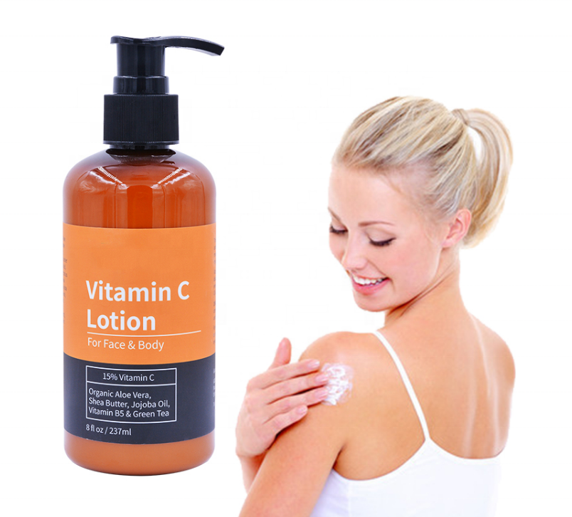 Private Label Vitamin C Face Whitening Lotion Body Nourishing Cream