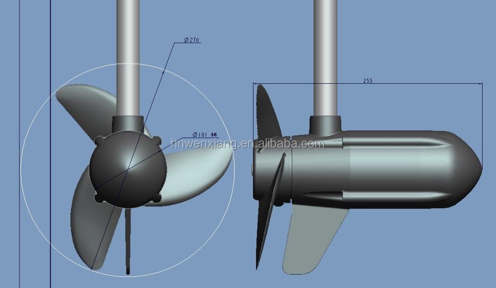 12V/24V/48V Brushless CE Certificate Approved electric trolling motor