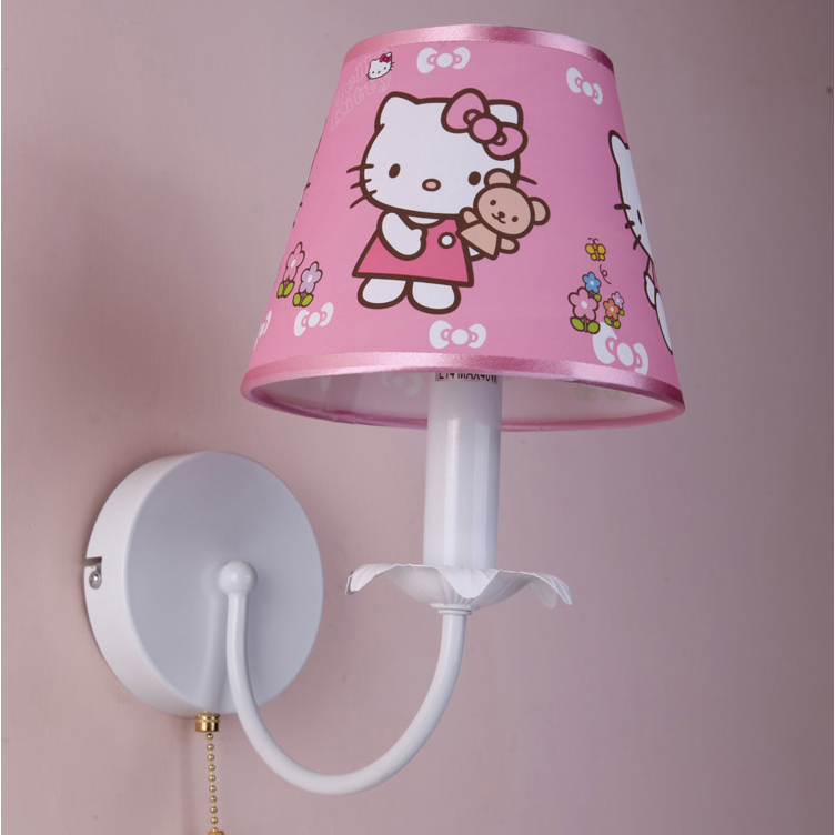 online buy wholesale hello kitty wall lamp from china hello kitty wall lamp wholesalers. Black Bedroom Furniture Sets. Home Design Ideas