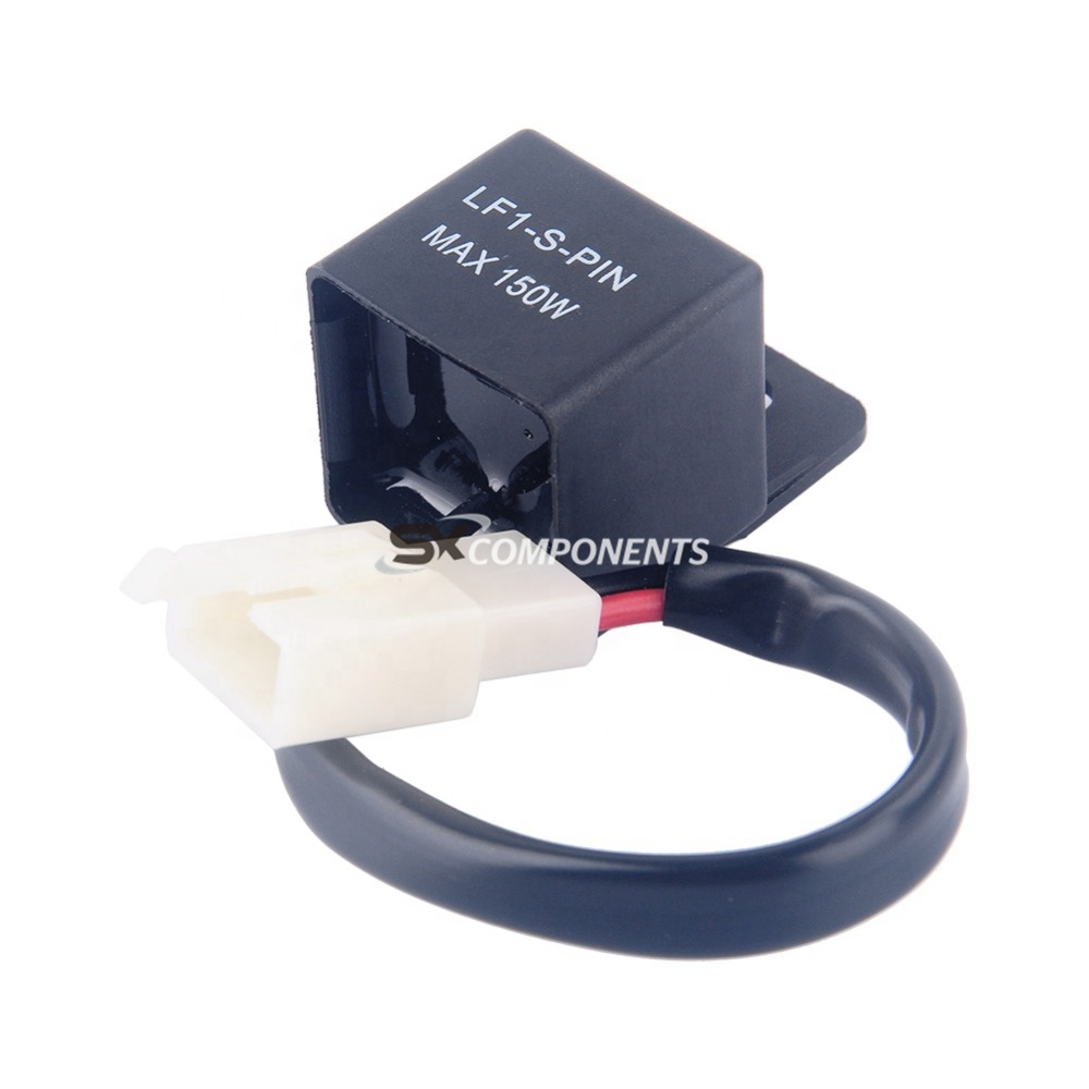 Motorcycles Waterproof 40 Pin Turn Light Turn Signal Rate Control  Blinkrelais Universal Motorcycle Switch Lamp Led Flasher Relay   Buy Led  Flasher ...