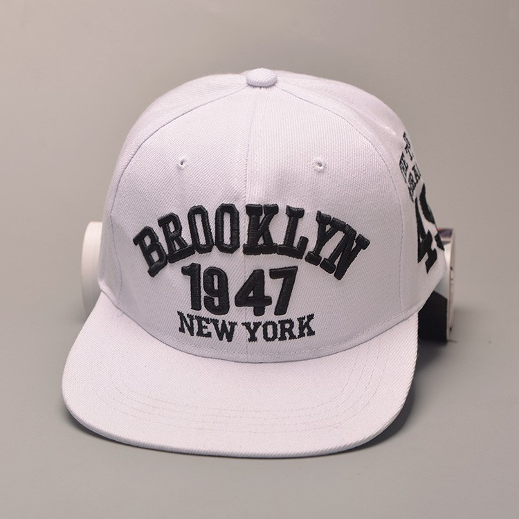 5d90ac54ad5 1947 Brooklyn Style Baseball Cap Sport Hat Gorras Planas Snapback ...