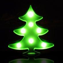 СВЕТОДИОДНЫЙ Ночник Луна облако Рождество 3D лампа Фламинго кактус звезда ночник Ангел дерево для детей подарок внутреннее украшение(Китай)