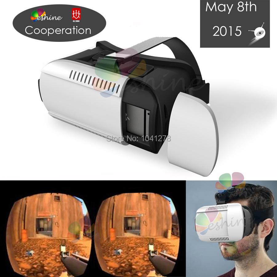 качество vr мобильный телефон oculus Рифт vr 3d очки бесплатно bluetooth  gamepad пластиковые google картона виртуальной 98cf06b22a761