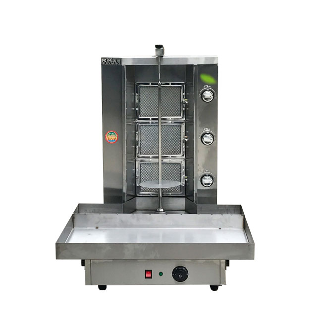 Hot Sale Electric Gas Chicken Grill Machine Shawarma Kebab Machine For Sale