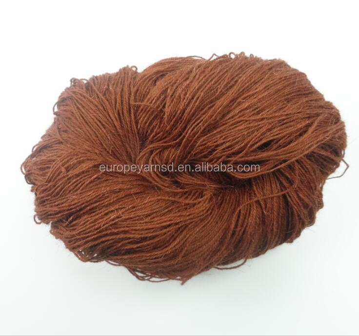 wholesale wool blend nylon hand knitting yarn