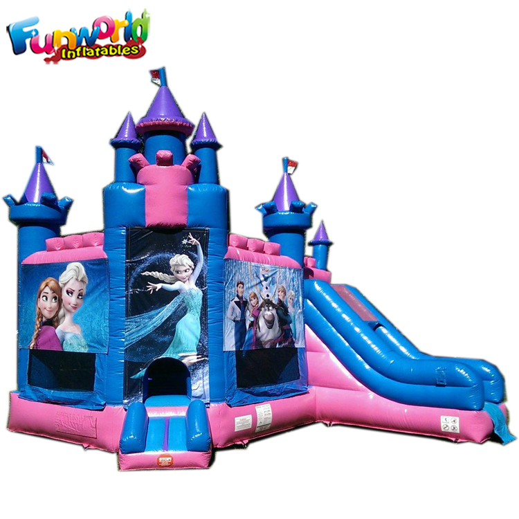 Cheap bouncy combo carriage jump bounce house castillo inflable bouncer slide jumping castle inflatable