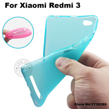 Xiaomi Redmi 3 Case Cover Matte TPU Soft Back Cover Phone Case For Xiaomi Redmi 3 Redmi3 Cover Case (5.0 inch)
