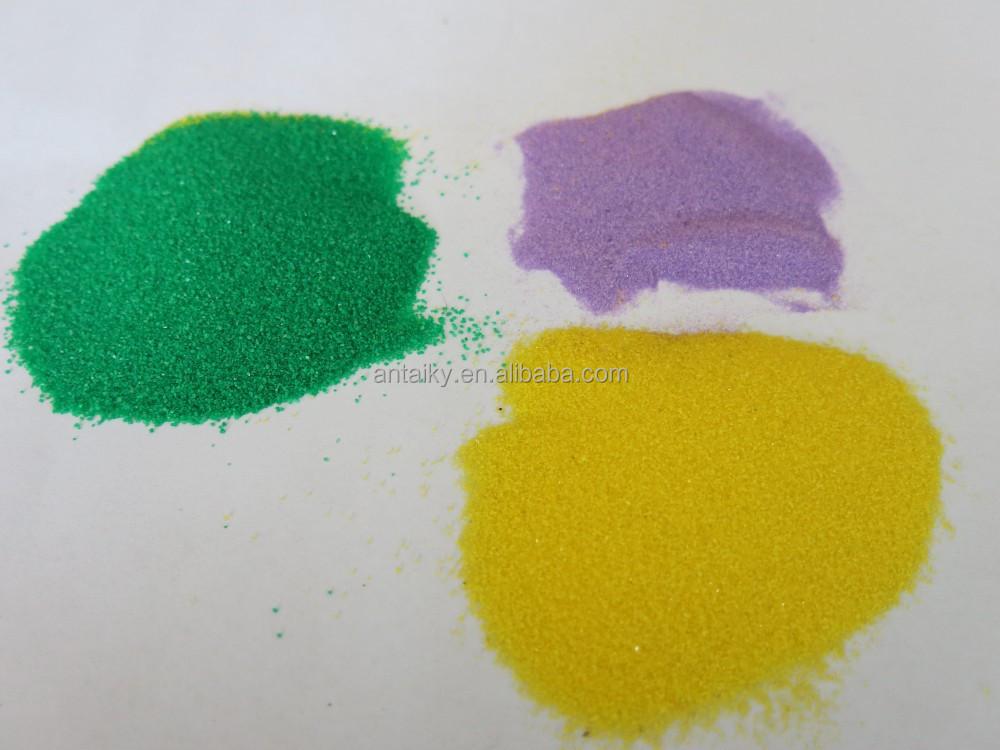 Натуральный Цветной Песок и цветной песок