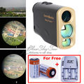 Free Shipping 1000M Waterproof Laser Rangefinder Telescope Distance Speed Measurement for Outdoor Hunting Golf Battery Charger