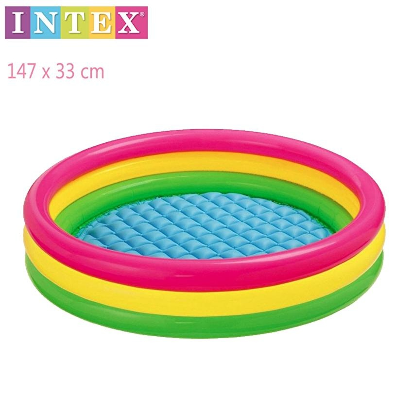 Intex Inflatable Child/'s Arm Bands Pool Water Wings Floaties Set of 2 Fish Gl2 for sale online