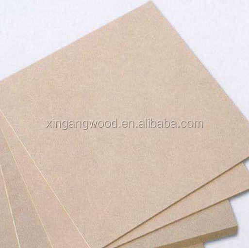 Furniture Grade Raw Mdf / Melamine Mdf Board