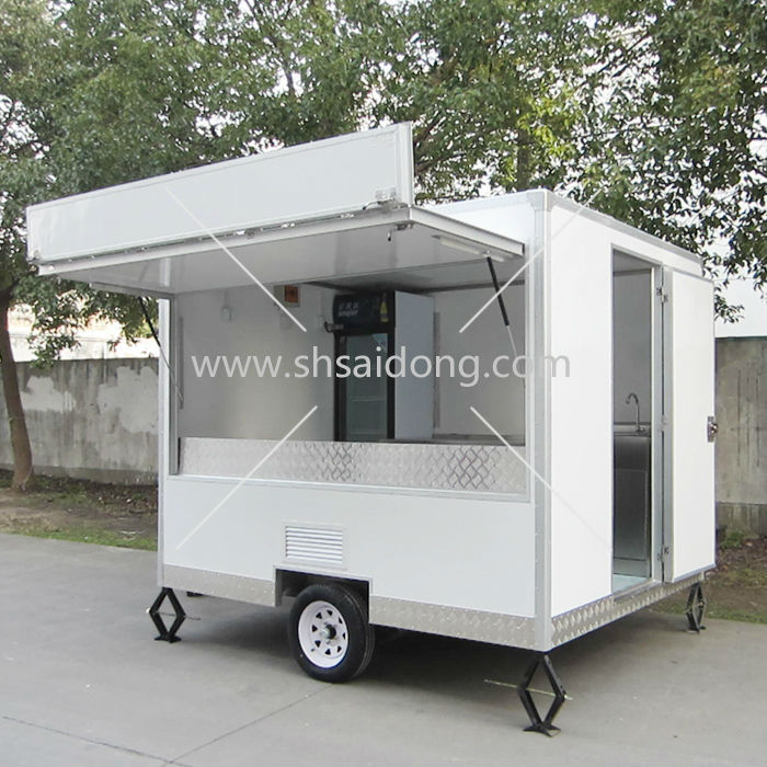 Used Mobile Food Trailer Catering Food Trailer For Sale