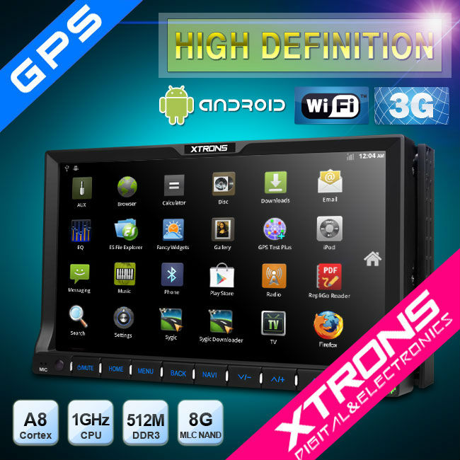 "CAR AUDIO] XTRONS TD710A - 7"" Android Dou… 