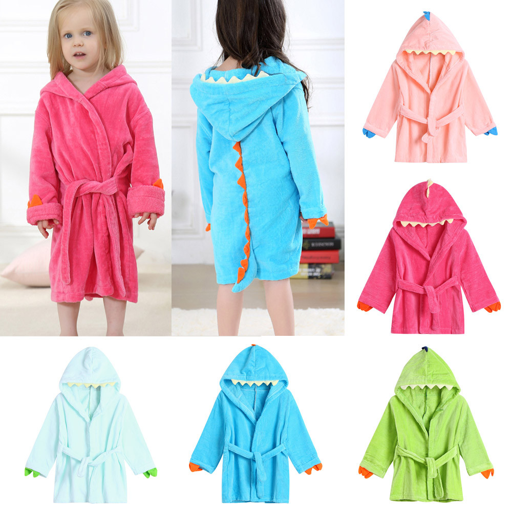 0e3ab0cd44 Detail Feedback Questions about Baby Boys Girls Bathrobe Cartoon ...