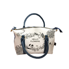 new fashion hand bag with custom made personality design printing hand bag