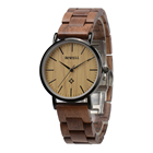 Hours Natural And Steel Women Wristwatches Her Wooden Band Wrist For Girls Wood Watch With Flower