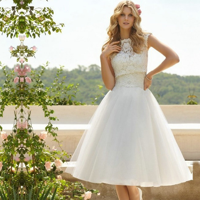 Wedding Gown On Sale: On Sale Ball Gown Wedding Dress 2016 Short Wedding Dress