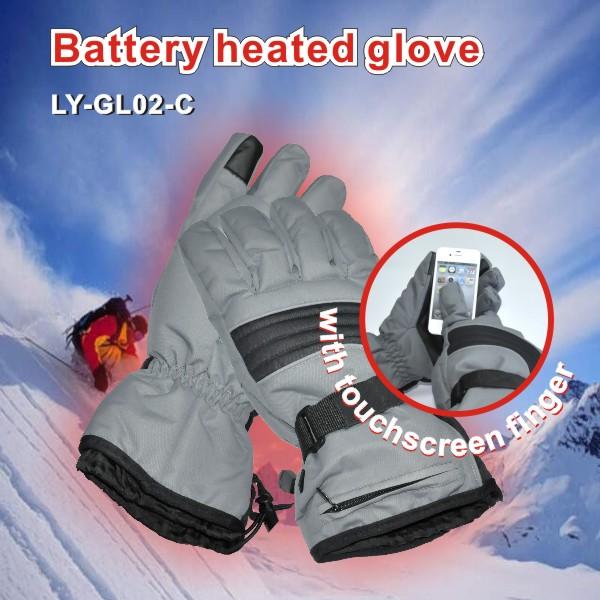 Оптовая продажа, перчатки для катания на лыжах с электрическим аккумулятором и подогревом