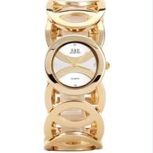 G & D Роскошные Брендовые женские часы, золотые часы-браслет, женские модные повседневные кварцевые наручные часы, relogio feminino, подарочные часы ...(Китай)