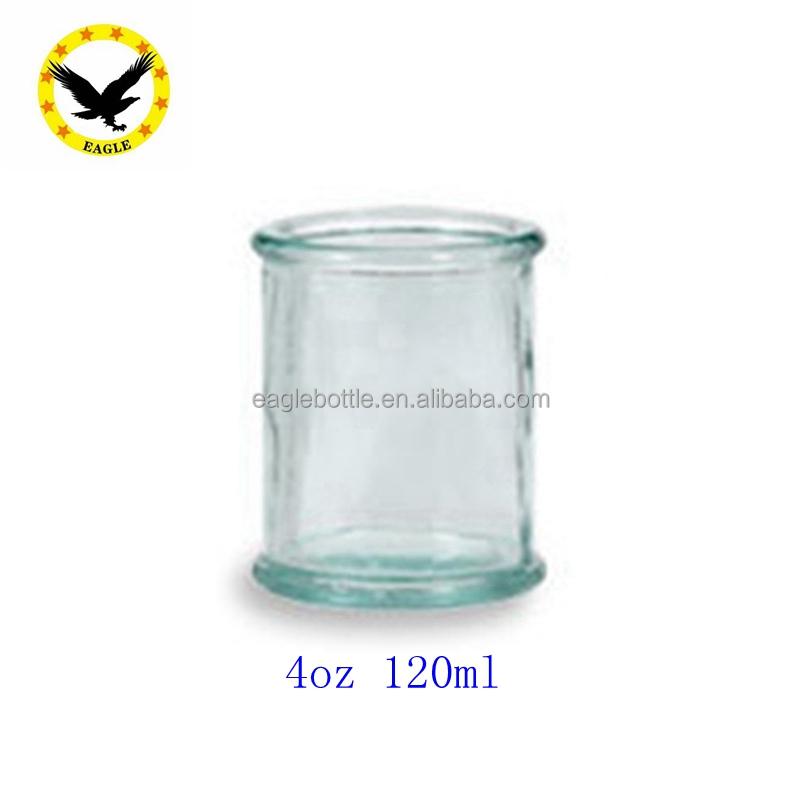 10 унций (300 мл) Испанская банка для свечей из переработанного стекла