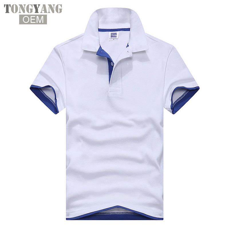 Tongyang Hot Sale High Quality Cotton Polyester Blend Oem Embroidery Custom Polo T Shirt Blank Mens Polo Shirts - Buy Polo Shirts,Mens Polo ...