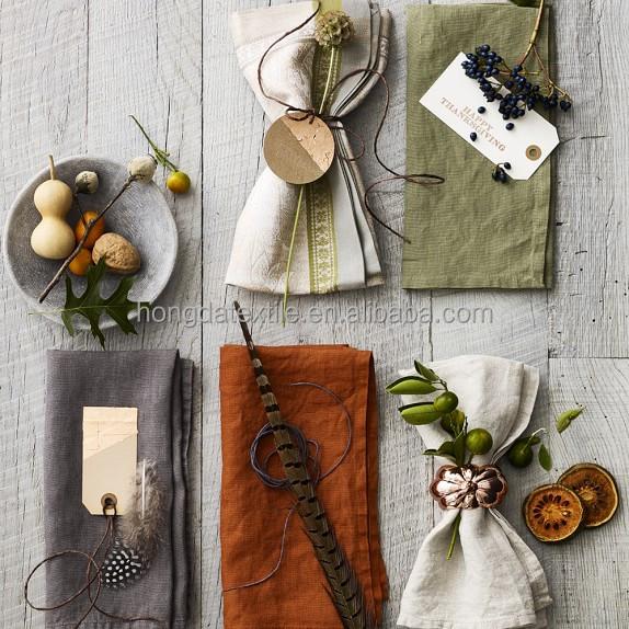 Скатерти и салфетки из 100% натурального льна